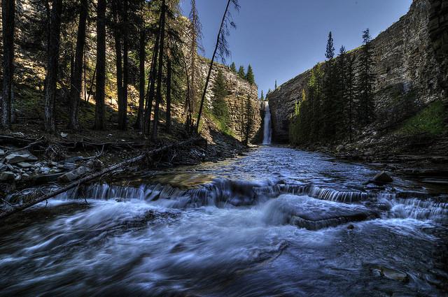 Big Horn Falls