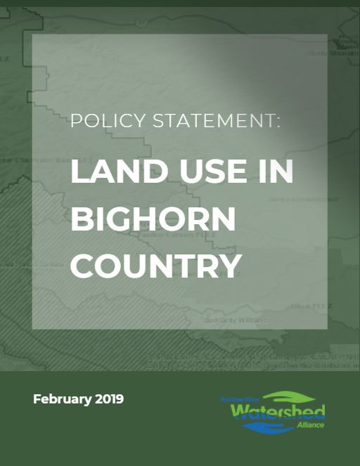 Bighorn Policy Statement Cover