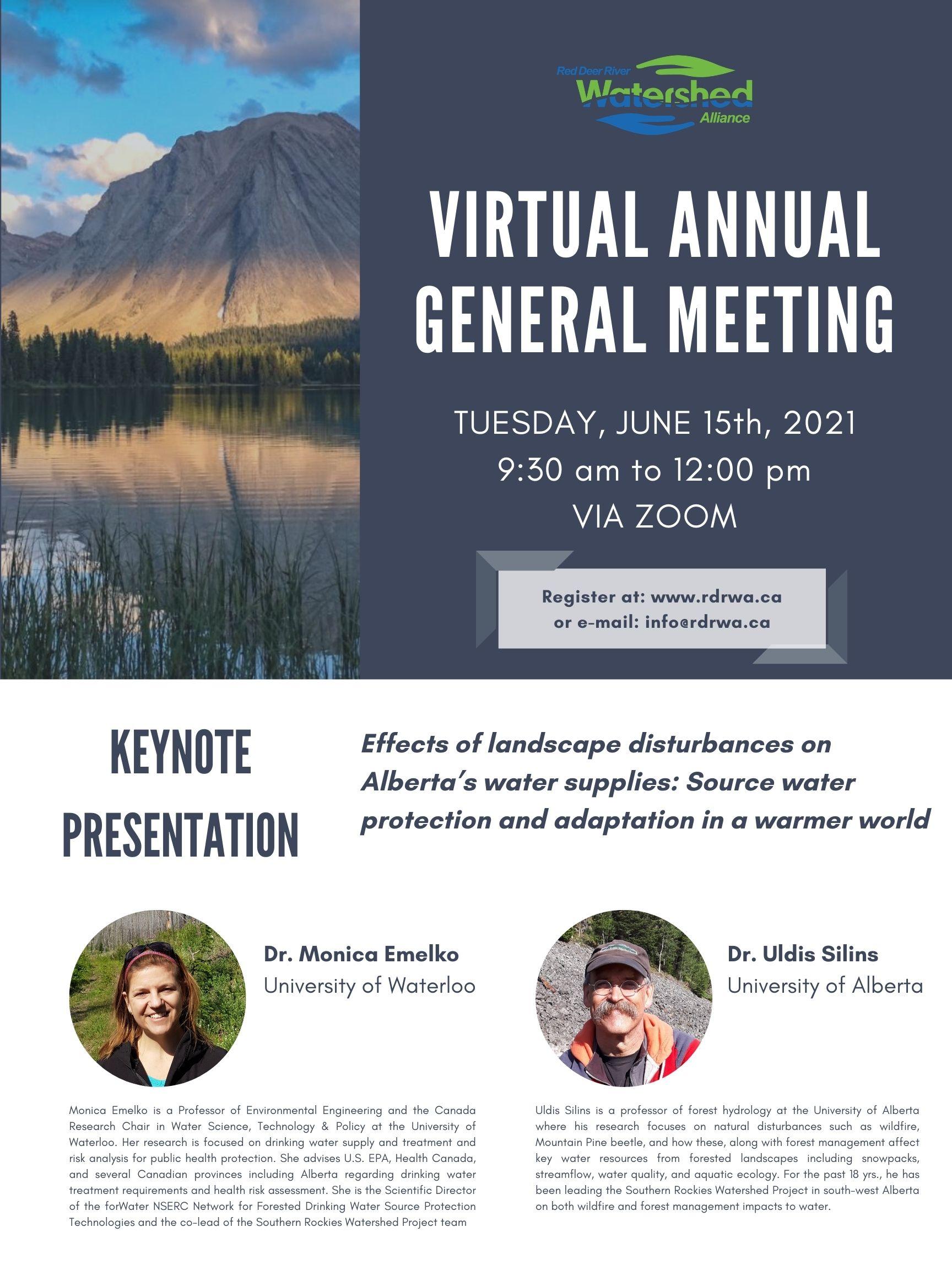 RDRWA Annual General Meeting