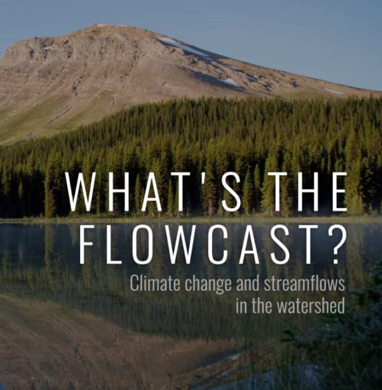 New Video Profiles Changing Climate And Streamflows In The Watershed